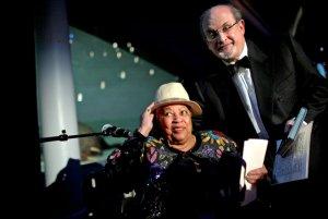 PEN HONORS SALMAN RUSHDIE, Key note speaker Toni Morrison